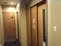 アパホテル千葉八千代緑ヶ丘のロビーの多目的トイレ