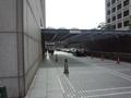 KKRホテル東京の裏の車寄せ