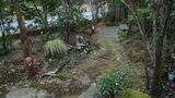 嵯峨沢館の庭園と散歩道