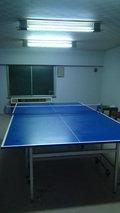 嵯峨沢館の卓球場