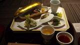 嵯峨沢館の夕食「八寸」
