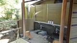 嵯峨沢館の「寝覚の湯」の洗い場