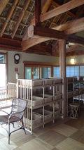 嵯峨沢館の「夢告の湯」の脱衣所