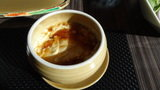 嵯峨沢館の朝食 茶わん蒸し