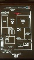 帝国ホテル東京の1Fの案内図