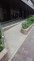 帝国ホテル東京のバリアフリーアプローチ