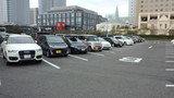 ホテルニューオータニ幕張の屋外駐車場