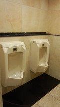 ホテルニューオータニ幕張24Fのトイレ(男子用)