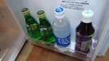 源泉と離れのお宿月の部屋の冷蔵庫