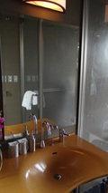 源泉と離れのお宿月の部屋の洗面台