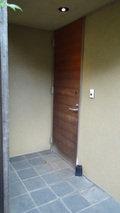 源泉と離れのお宿月の客室(離れ)の入り口