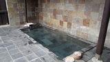源泉と離れのお宿月の露天風呂「月姫の湯」の湯船