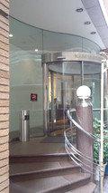 神田ステーションホテルのエントランス
