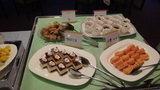 嬬恋プリンスホテルのレストランでの夕食