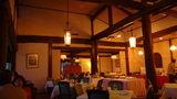 嬬恋プリンスホテルのレストランでの夕食の雰囲気
