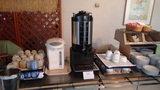 嬬恋プリンスホテルの朝食(コーヒー・紅茶コーナー)
