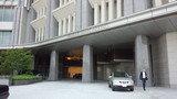 パレスホテル東京のエントランス