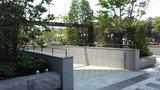 パレスホテル東京の地下駐車場の入り口
