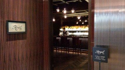 パレスホテル東京の1Fメインバー「ロイヤルバー」