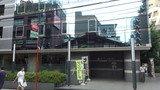柏プラザホテル本館の正面入り口(柏駅側)