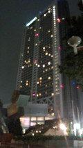 東京ドームホテルの夜景