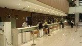 東京ドームホテルのフロント