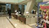 東京ドームホテルのロビーのコンシェルジュコーナー