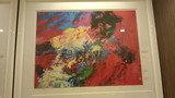 東京ドームホテルのロビーに飾ってある「王貞治」をイメジーした絵画