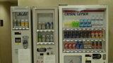 ホテルマイラのお酒・清涼飲料の自動販売機