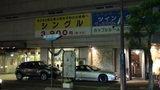 ホテルマイラの外観(夜)