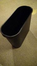 ホテルマイラの机に付いているタイプのゴミ箱
