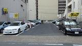 岡山ビジネスホテルアネックスの駐車場