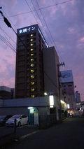 東横イン岡山駅東口の外観