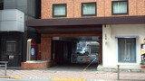 赤坂陽光ホテルの駐車場入り口