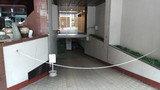 マロウドイン赤坂の駐車場入り口