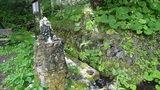 泡の湯の宿の前にある飲泉所