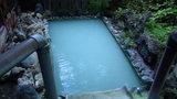 泡の湯の大浴場の男性専用露天風呂