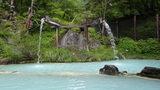 泡の湯の大野天風呂