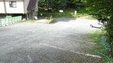白骨の名湯 泡の湯 裏側の第二駐車場