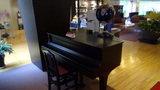 清里高原ホテルのロビーのグランドピアノ