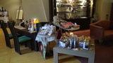 清里高原ホテルのロビーのアロマなどのお土産コーナー