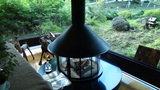 清里高原ホテルのロビーの暖炉
