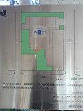 ホテルユニゾ新橋の敷地案内図