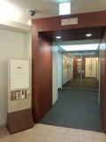 パークホテル東京のエントランス