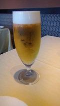 清里高原ホテルのグラス生ビール