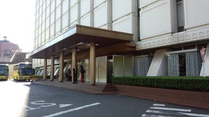 品川プリンスホテルの車寄せ・エントランス