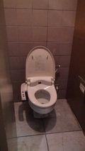 清里高原ホテルの共用シャワー付きトイレ