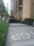 ザ・ペニンシュラ東京の地下駐車場入り口