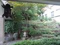 東京プリンスホテルのティーサロンピカサから見える庭園