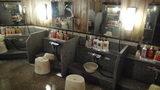 清里高原ホテルの大浴場の流し場